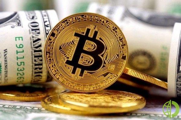 Стоимость биткоина имела позитивный прогноз в начале недели