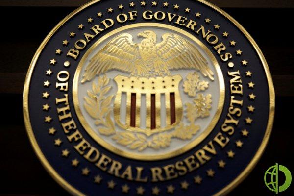 ФРС прогнозирует рост ВВП в США на 6,5% в текущем году
