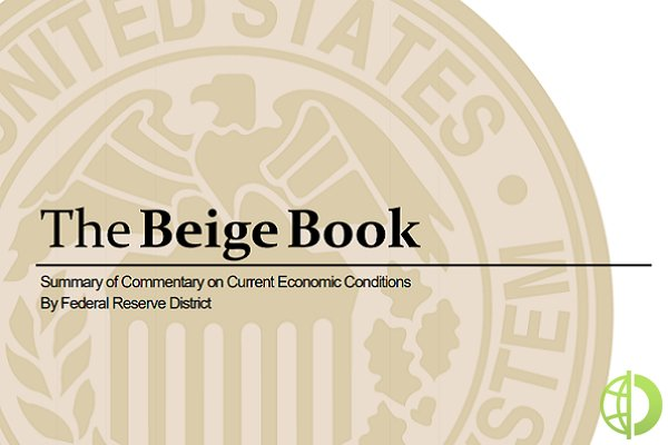 Форекс: Отчет по Бежевой книге подтвердил рост экономики США