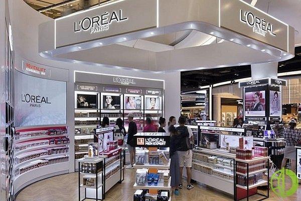 Сравнимый рост продаж группы L'Oréal за квартал составил 10,2%
