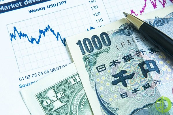 Иена подешевела до 130,54 по отношению к евро