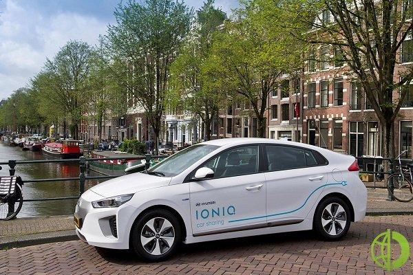 Водители сервиса Uber получат скидки на доступ к электромобилям Hyundai Ioniq Electric и Hyundai Kona Electric