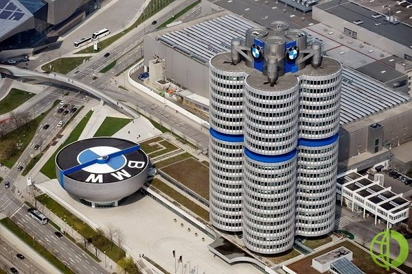 В первом квартале выручка BMW выросла на 15,2%