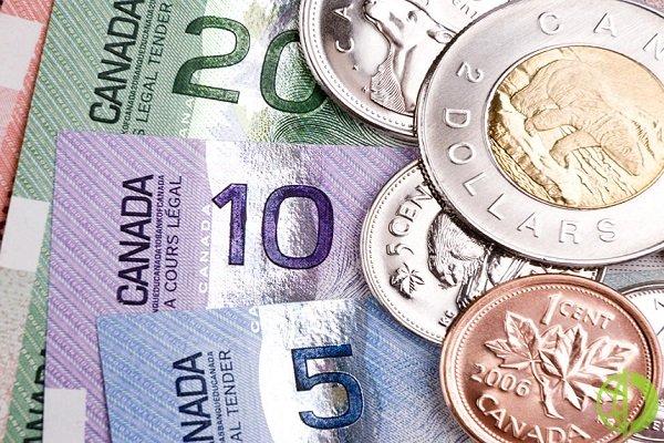 Канадская валюта подешевела до 89,36 относительно иены