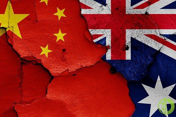В прошлом году штат Западная Австралия экспортировал в Китай товаров на сумму 80 млрд долларов США