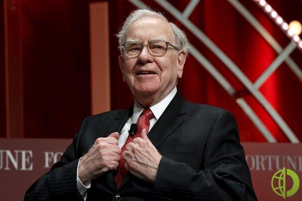 Миллиардер Уоррен Баффет сообщил, что пожертвовал акции Berkshire Hathaway на сумму $4,1 млрд пяти фондам