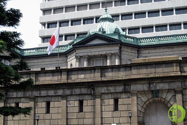 В отчете Банка Японии сообщается, что на текущий момент рост цен на сырье будет негативным для торговли в Японии