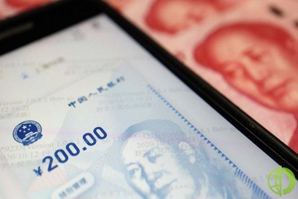 ЦБ Китая продолжает развивать цифровой юань