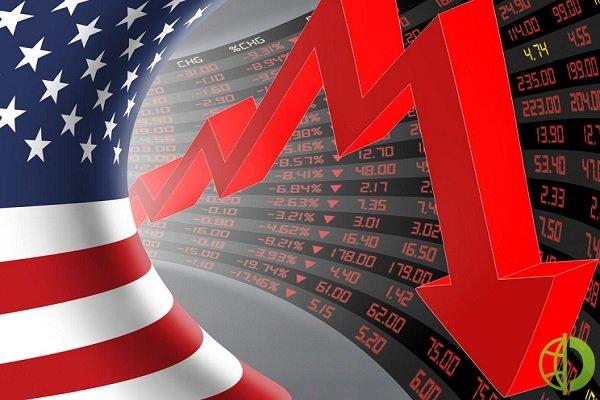 Dow Jones рухнул на 2,1% до 33 962,04