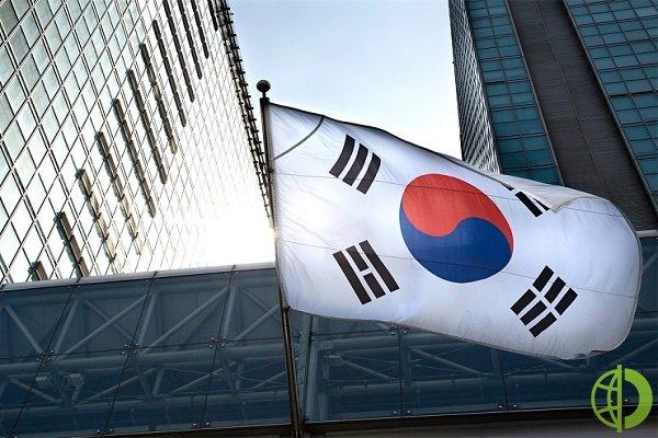 В Южной Корее снизился рост ВВП