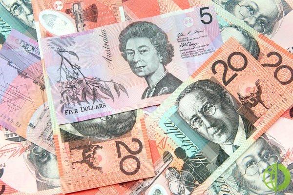 Австралийский доллар снизился до 81,08 относительно иены
