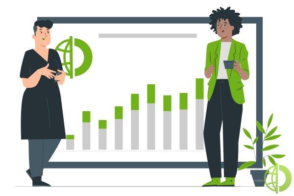 ETF — торгуемый на бирже фонд, который инвестирует в акции из состава биржевых индексов или определенных отраслей экономики