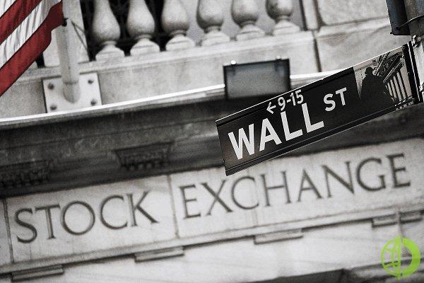 Dow Jones упал на 0,8% до 34 577,57