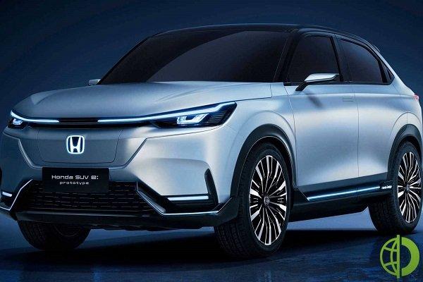 Honda Prologue разрабатывается в партнерстве с General Motors Co