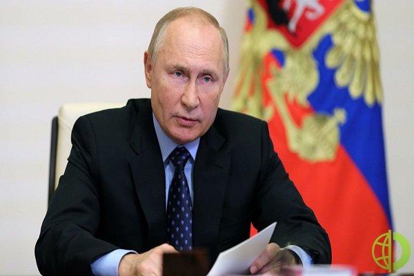 Стоимость газа в Европе упала после заявления Путина