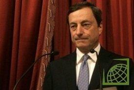 Марио Драги подтвердил ранее заявленную оценку инфляции в еврозоне - выше заявленных Центробанком 2% в 2012 году.