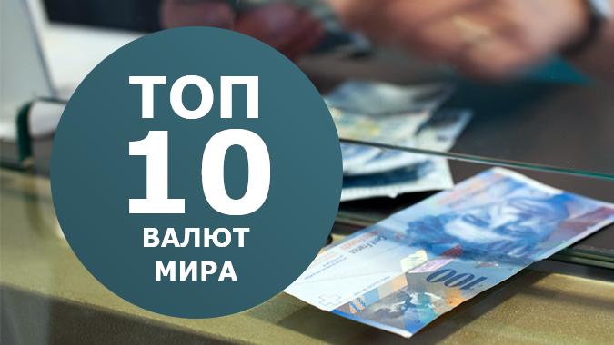 Топ 10 валют мира